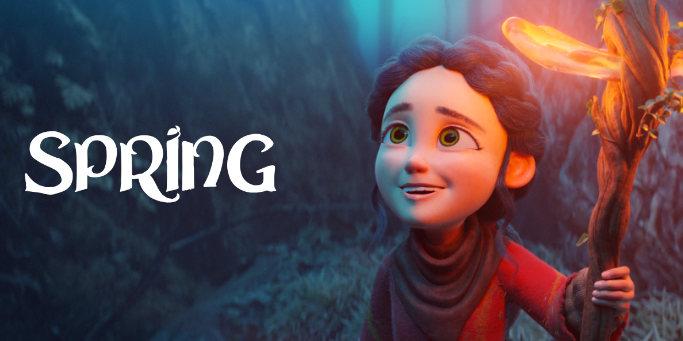 Blender Spring Short Movie